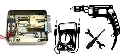 ремонт электронного замка 2